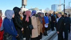 TÜGVA Bolu il temsilcisi Sadık Kuru ve üyeleri Vali Aydın Baruş'u ziyaret etti.