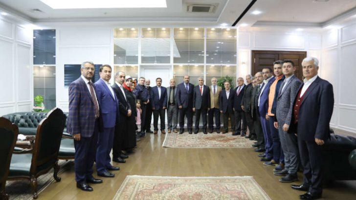 Güder, AK Parti Battalgazi İlçe Teşkilatı'na vermiş oldukları destekten dolayı teşekkür etti