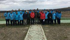 Eskişehir'de Türkiye Kupası Skeet Yarışması Final Atışları kapsamında, skeet yarışması yapıldı.