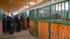 Vali Aydın Baruş, Gıda, Tarım ve Hayvancılık Bakanlığı Sultansuyu Tarım İşletmesinde incelemelerde bulundu.