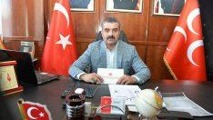 MHP İl Başkanı Avşar, 1 Mayıs Emek ve Dayanışma Günü dolayısıyla bir mesaj yayınladı.