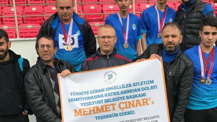 Malatya'yı Türkiye Şampiyonasında en güzel şekilde temsil etmenin gururunu yaşıyoruz