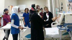 Malatya Eğitim ve Araştırma Hastanesinde Kapsamlı İnme Merkezinde 112 hastanın yatarak tedavisi yapıldı