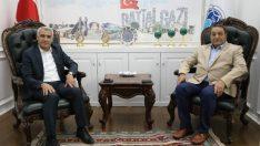 MHP Malatya Milletvekili Fendoğlu, Başkan Güder'i Ziyaret Etti