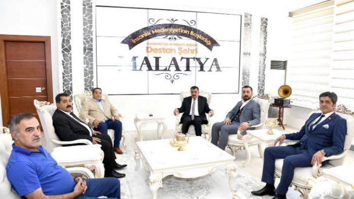 Fendoğlu'ndan Başkan Gürkan'a ziyaret