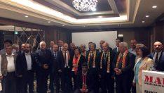 Ankara Malatyalılar Federasyonu Danışma Meclisi E.Bakan Güldal Akşit Başkanlığında toplandı