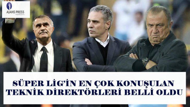 Medya takibinin öncü kurumu Ajans Press,Süper Lig'de görev yapan ve görev yapmış teknik direktörlerin medya karnelerini çıkardı