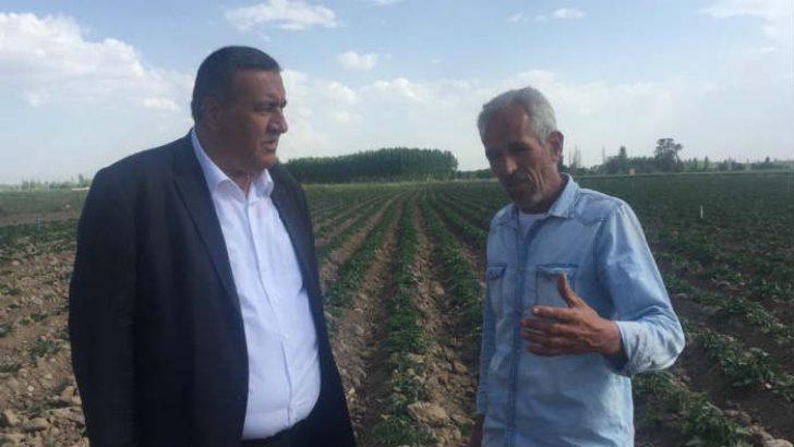 """CHP Niğde Milletvekili Ömer Fethi Gürer, """"Yazlık patateste maliyet arttı, üretici tedirgin!"""""""