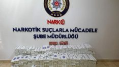 Malatya'da 6170 Paket Gümrük Kaçağı Sigara  Ele Geçirildi