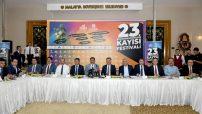 Uluslararası Malatya Kültür Sanat Etkinlikleri ve Kayısı Festivali istişare toplantısı düzenlendi