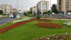 Çalışmalar sonucunda 157 Bin Çiçek Toprakla Buluştu