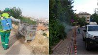 Malatya Büyükşehir Belediyesi haşerelere karşı mücadele çalışmalarını geceli-gündüzlü sürdürüyor. #malatya #haberler #sondakika