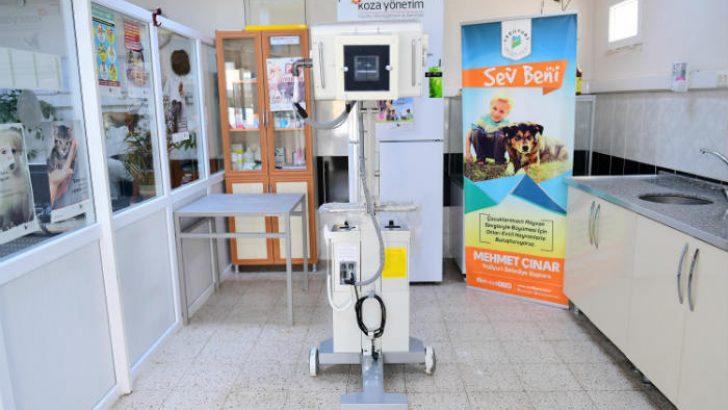 Haytap Hayvan Hakları Federasyonu ve Koza Firması Yeşilyurt Belediyesine Röngen Cihazı Bağışladı