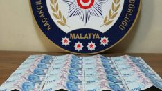 Malatya'da Sahte Para Ele Geçirildi