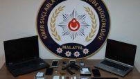 Malatya'da yasa dışı bahis sitelerinde bahis oynattıkları tespit edilen 3 şüpheli gözaltına alındı