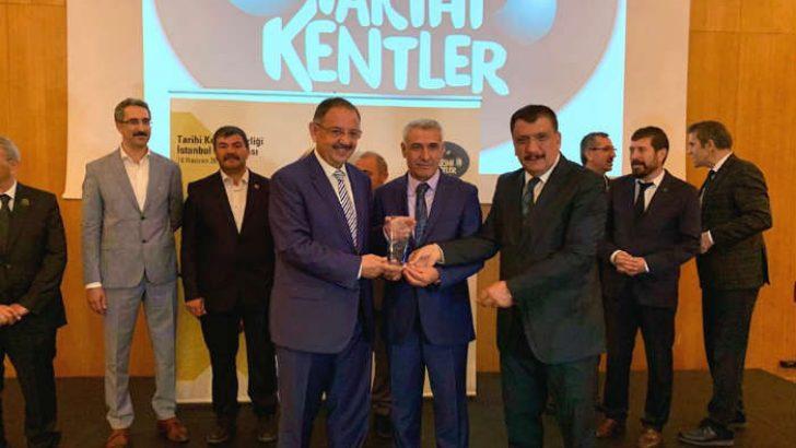 Battalgazi Belediyesi Tahtalı Hamam Müzesi, Tarihi Kentler Birliği tarafından ödüle layık görüldü