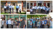 Sn Malatya Valisi Aydın Baruş , Sancaktar ve Taştepe Mahalle Muhtarlarını ziyaret ederek, yapılan çalışmalar hakkında bilgiler aldı.