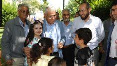 Güder, Battalgazi Belediyesi tarafından başlatılan 'Parklarımıza Sahip Çıkalım' projesi kapsamında çocuklarla parkta bir araya geldi.