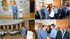 Gürkan, 23. Uluslararası Malatya Kültür Sanat Etkinlikleri ve Kayısı Festivali öncesi muhtarlar ile bir araya geldi