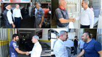 """Yeşilyurt Belediye Başkanı Mehmet Çınar, """" Esnaflarımız, ekonominin mihenk taşıdır."""