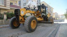 Battalgazi Belediyesi tarafından İskender Mahallesi'nde sıcak asfalt çalışması yapıldı.