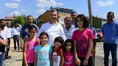 Çınar, Cevatpaşa mahallesine yapılacak olan 400 kişilik caminin temel atma törenine katıldı