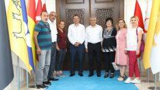 Eskimalatya Aşkı Grubu Güder'i Ziyaret Etti