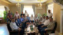 Avşar, Kuluncak Belediye Başkanı ve Kaymakamı Ziyaret Etti
