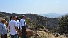 Vali Baruş: Hekimhan Köylü Mahallesindeki Yangın Kontrol Altına Alındı