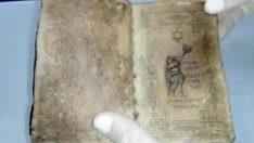 Malatya ili Darende İlçesinde İbranice El Yazması Kitap  Ele Geçirildi