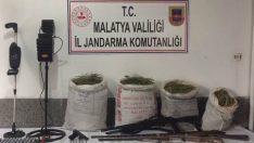 Darende Uzunhasan Mahallesinde 50 Kg Uyuşturucu Madde Ele Geçirildi.