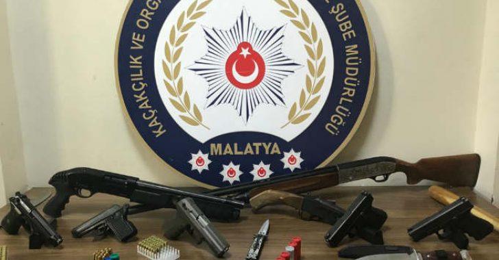 Malatya'da Suç Örgütüne Operasyon 13 Şüpheli Gözaltında