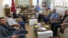 MHP Malatya Teşkilatı , Milli Eğitim Müdürü Ali Tatlı'yı ziyaret Ettiler