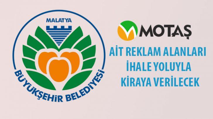 Malatya Büyükşehir Belediyesi MOTAŞ tarafından Otobüs ve trambüslerdeki reklam alanları ihale yoluyla kiraya verilecek.