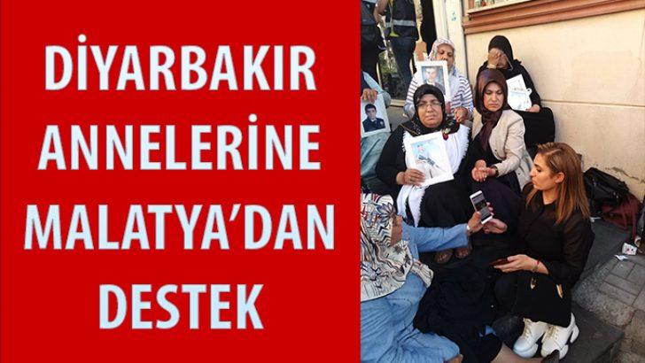 Diyarbakır Anneleri'ne Malatya'dan destek