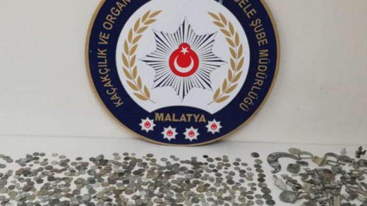 Malatya İl Emniyet Müdürlüğü, KOM Şube Müdürlüğün'den başarılı Tarihi Eser Operasyonu