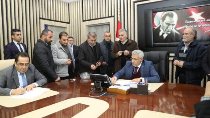Eski Malatya'nın çehresi değişecek ve bunu da Battalgazi Belediye Başkanı Osman Güder yapacaktı