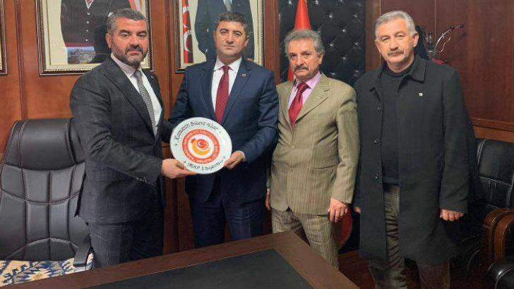 Kanatlı Hayvan Et Üreticileri Birliğinden Başkan Avşar'a Ziyaret