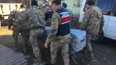 Jandarma tüm gücüyle sahada vatandaşın yanında