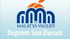 24 Ocak 2020 tarihinde Elazığ İli Sivrice İlçesi merkezli meydana gelen deprem sonucu Malatya'da son durum 27 Ocak 2020
