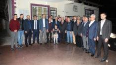 Güder, mahalle toplantıları kapsamında Toptaş Mahallesi'nde vatandaşla bir araya geldi.