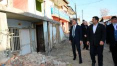Vali Baruş Şehit Fevzi, Taştepe, Hanımınçiftliği, Orduzu ve Alacakapı Mahallelerini Ziyaret Etti