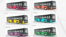 Malatya Büyükşehir Belediyesi MOTAŞ tarafından yeni alınacak olan otobüslerin ne renk olacağına halk karar verecek.