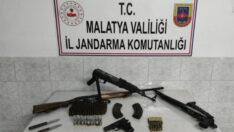 Malatya Jandarmasından Silah Kaçakçılarına Geçit Yok