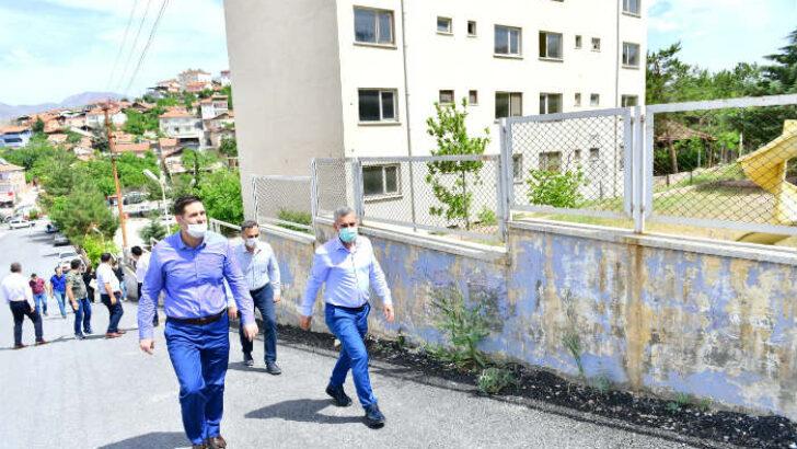 Yeşilyurt İlçe Kaymakamlığı Yeni Hizmet Binası Gedik Mahallesine İnşa Edilecek