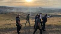 Vali Baruş Deprem Konutları Yer Tespiti İncelemelerinde Bulundu