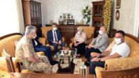 Vali Baruş, Şehit Ailelerimize Bayram Ziyaretinde Bulundu