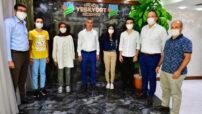 Başkan Çınar : Selahattin Eyyubi Fen ve Sosyal Bilimler İmam Hatip Lisesi 'ANATOLIA' takımını ağırladı