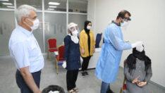 Battalgazi Belediyesi, risk altında bulunan personellerine tedbir amaçlı koronavirüs testi yaptırdı.