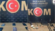 Malatya Emniyeti Narkotik Suçlarla Mücadele Şube Müdürlüğü Bir Taşla İki Kuş Vurdu